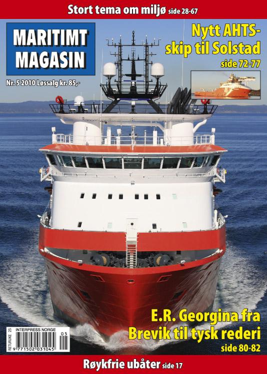 Forsiden av nr. 5/2010