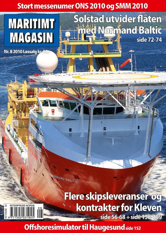 Forsiden av nr. 8/2010