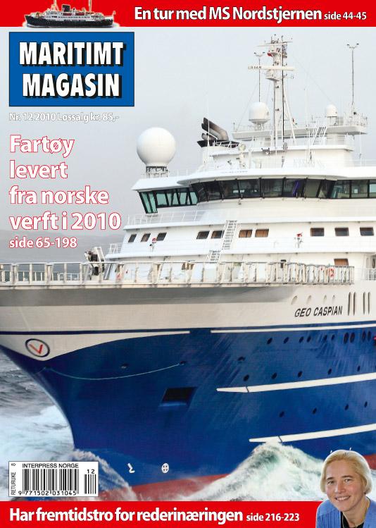 Forsiden av nr. 12/2010