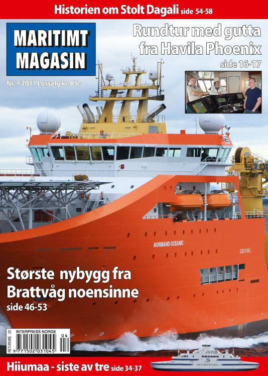 Forsiden av nr. 4/2011