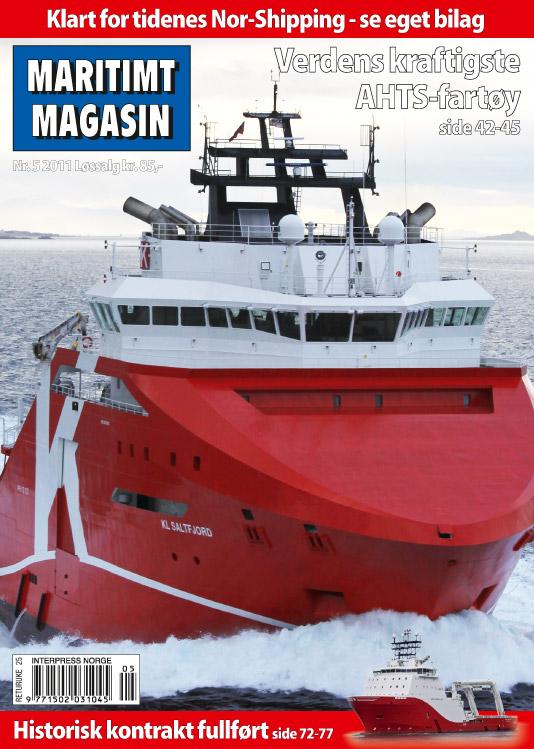 Forsiden av nr. 5/2011