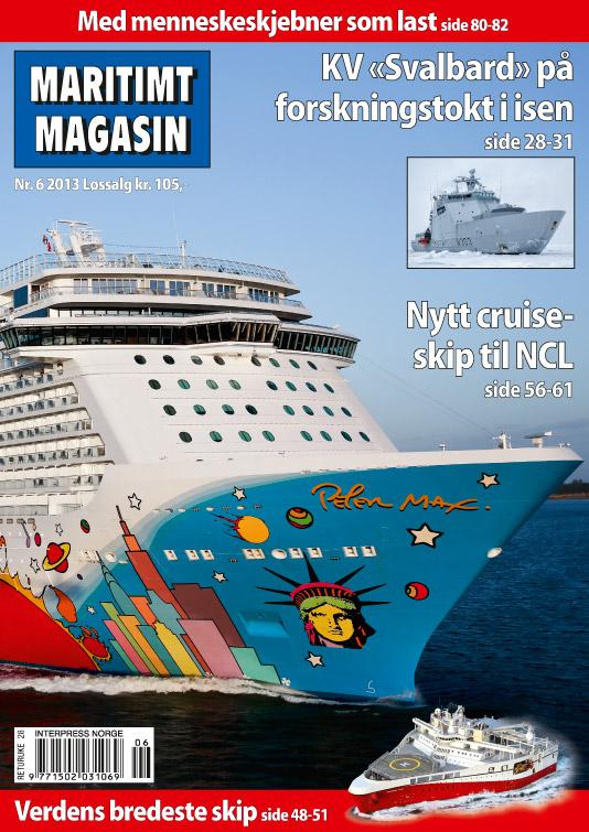 Forsiden av nr. 6/2013