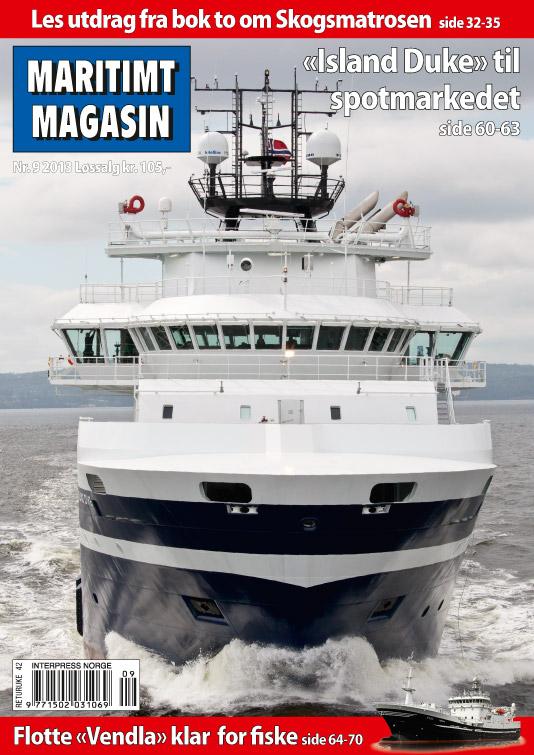 Forsiden av nr. 9/2013