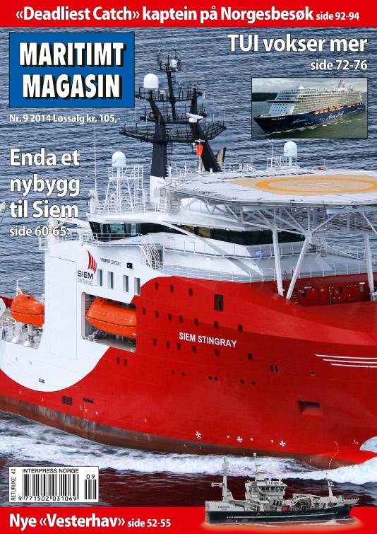 Forsiden av nr. 9/2014