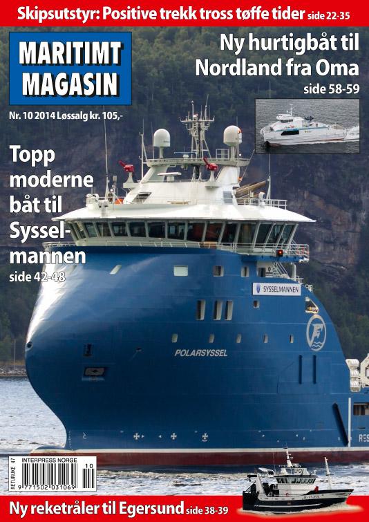 Forsiden av nr. 10/2014