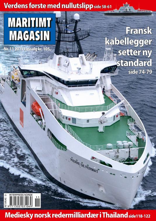 Forsiden av nr. 11/2014