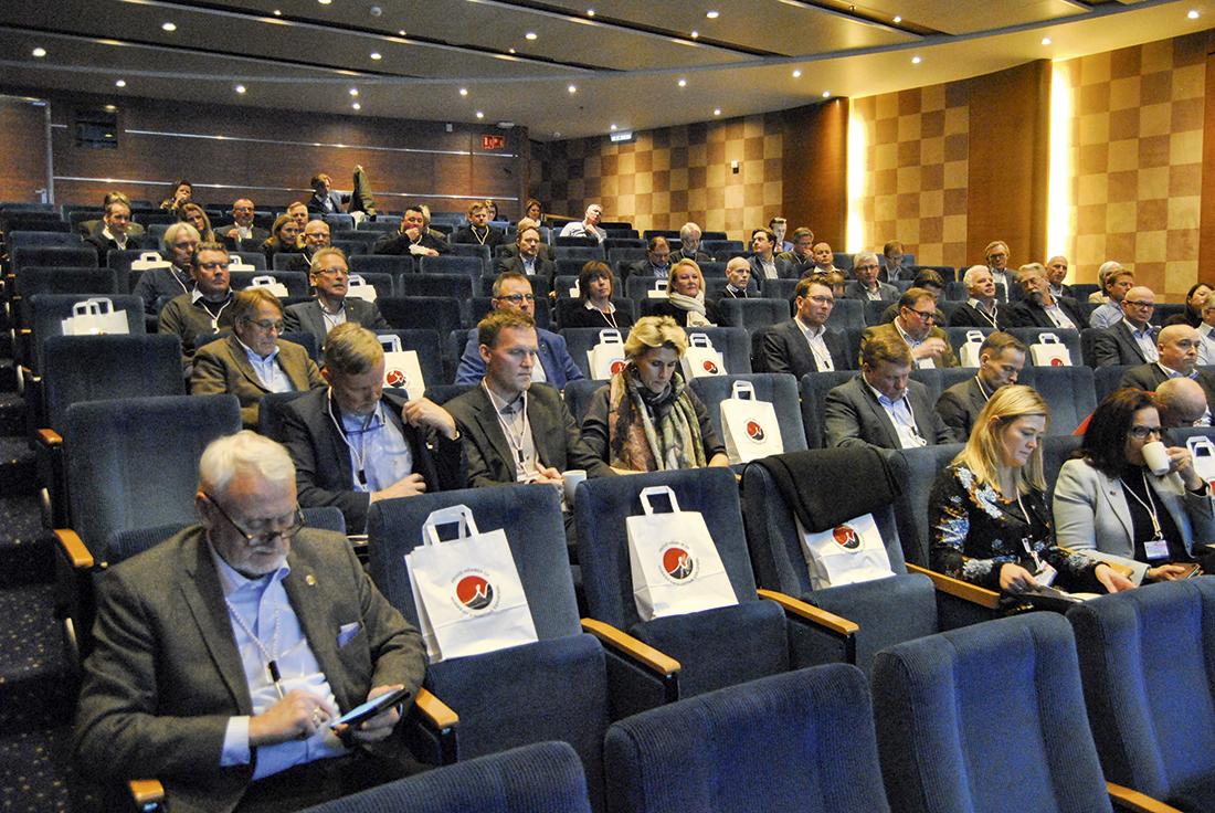 Fra fjorårets konferanse, som fant sted på Color Magic underveis mellom Oslo og Kiel i Tyskland.