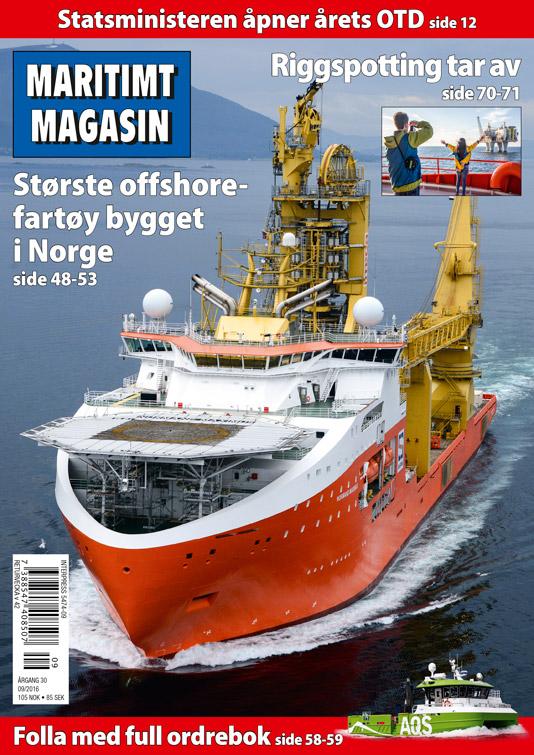 Forsiden av nr. 09/2016