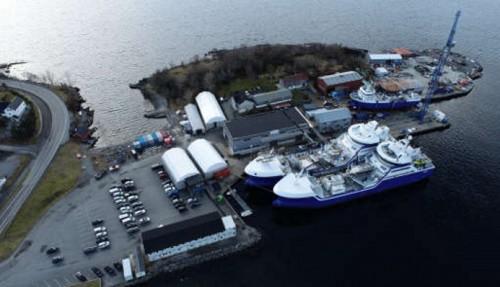 Larsnes Mek. skal bygge enda en brønnbåt. Foto: Larsnes Mek. Verksted