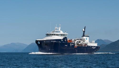 Ronia Diamond er Sølvtrans sitt nyeste tilskudd i flåten, og er bygd av Myklebust Verft. Foto: Olav Thokle