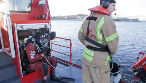 Ny brann- og redningsbåt til Bergen. Foto: Maritime Partner
