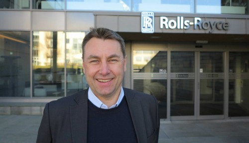 Asbjørn Skaro, direktør for Digital and Systems i Rolls-Royce Marine. Foto: Rolls-Royce