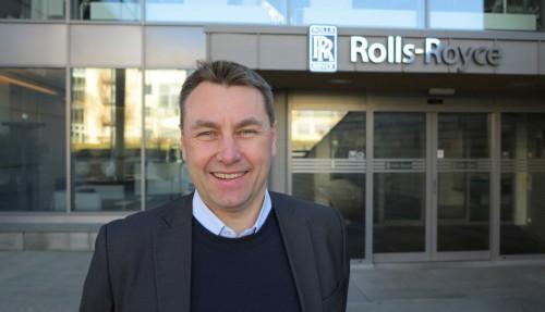 Asbjørn Skaro, direktør for Digital & Systems i Rolls-Royce Marine. Foto: Rolls-Royce