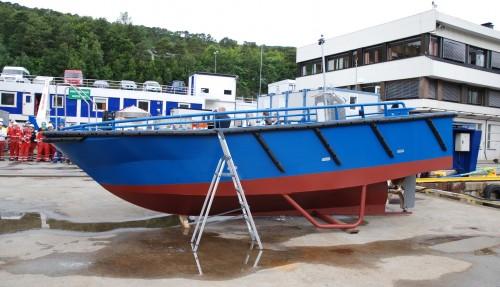 Basbåten Ingebrikt. Foto: Kurt W. Vadset