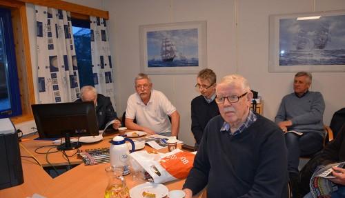 Arne Drønnen, Terje Olsen, Arve Drønnen, Nils Kristian Drønnen og Per Farstad