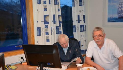 Arne Drønnen og Terje Olsen