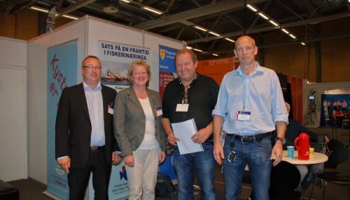 Ronald Hellenes, Inger Johanne Christensen, Bjørnar Johansen og Sigurd Bjørgo