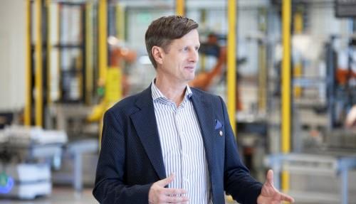 CCO i Corvus Energy, Halvard Hauso tror at nye forretningsmodeller vil bidra til å akselerere det grønne skiftet innen shipping. Foto: Corvus Energy
