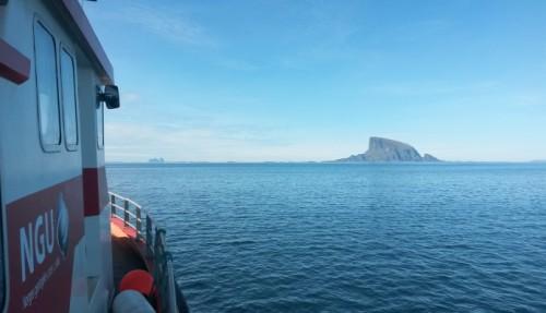 Norges geologiske undersøkelse (NGU) har inngått kontrakt om kjøp av nytt forskningsfartøy ved hjelp av bevilgning på 60 millioner kroner. Foto: NGU.