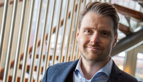 Geir Larsen, administrerende direktør i Norwegian Electric Systems AS. Foto: Siv-Elin Nærø