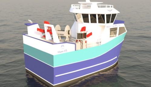 Ragnhild Hatland 14,99 X 7,30 meter. Illustrasjon: Båt og Motorservice.