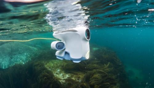 Blueye er en gründerbedrift, som utvikler undervannsdroner. Foto: Blueye