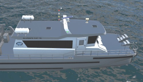 Denne nye modellen fyller ett gap i markedet Illustrasjon: Maritimt Partner.