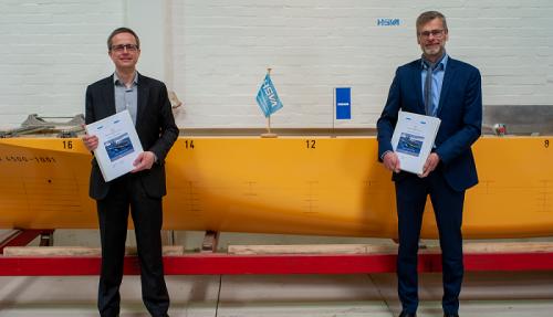 Dr.-Ing. Florian Kluwe, Director/Division Manager Ships/Head of Projects, HSVA and Dirk Henneberg, Senior Program Manager Procurement F126, Damen Naval