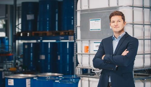 Dr. Daniel Teichmann, administrerende direktør og grunnlegger av Hydrogenious LOHC Technologies, og styreleder for det nystiftede fellesforetaket Hydrogenious LOHC Maritime AS. Foto: Hydrogenious LOHC Technologies GmbH.
