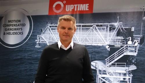 Salgs -og markedsdirektør Svein Ove Haugen. Foto: Uptime International