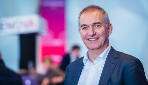 Administrerende direktør Morten Mellerud i WindPartner på Enovakonferansen 2017. Foto: Enova/Creative Commons