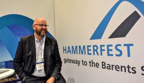 Espen Hansen er direktør i Hammerfest Næringsforening. Foto: Thomas Førde