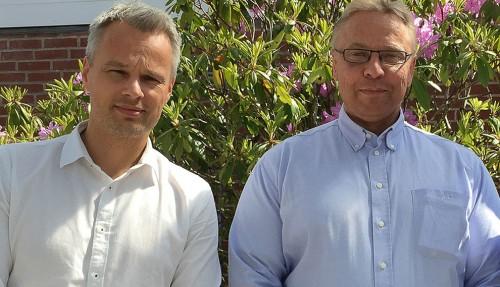 Gisle Vinjevoll Thrane og Kristian Ole Jakobsen
