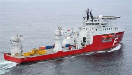 Solstad CSV Far Sentinel har fått forlenget en kontakt i Mexico. Foto: Solstad.