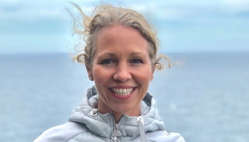 Administrerende direktør Hedda Felin i Hurtigruten Norge.  Foto: Hurtigruten.
