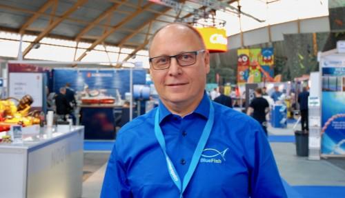 Geir Østensen fra BlueFish-teamet. Arkivfoto: Kurt W. Vadset