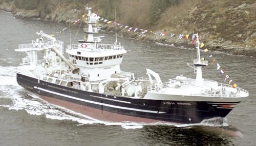 Hardhaus ble bygd av Fitjar Mek. i 2003. Foto: Bjørn Ottosen
