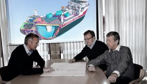 Olav Remøy, Kjetil Myren, Leif Gjelseth
