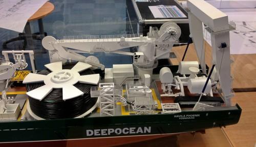 Modell av skipet