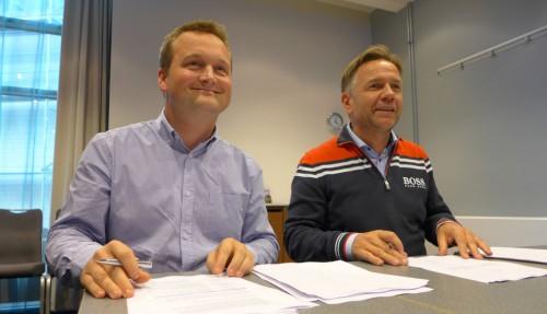Geir Johan Bakke og Thomas B. Geving