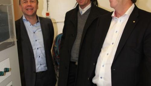 Geir Johan Bakke, Leif Gjelseth og Kenneth Pettersen