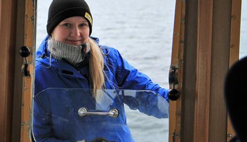 Ingunn Elise Søvik er en av søstrene som er nominert til Innovasjonsprisen. Foto: Norfishing