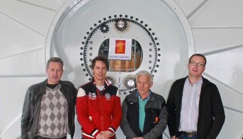 Ove Sandnes, Geir Henning Kalvatn, Olger Skarbø og Bjørn Berge