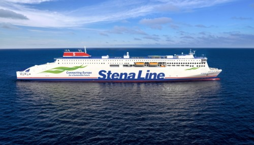 The vessel is up to 30 % more energy efficient than existing vessels in the fleet Illustration: Mild Design/Stena Lin