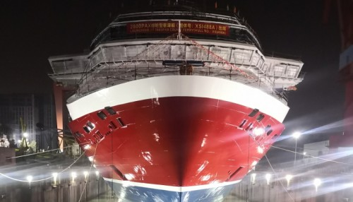 Viking Glory will service early 2022 on the Turku–Åland–Stockholm route. Photo: Viking Line.