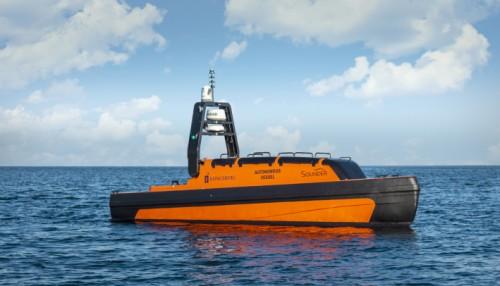 Slik blir de største autonome farkostene som Havforskningsinstituttet nå får. Foto Kongsberg Maritime