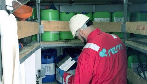 REM offshore have implemented MZ Chemical System to get total chemical control on board their vessels. Photo: REM Offshore.