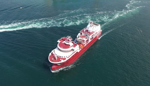 The use of liquefied natural gas will also provide 90 percent reduction of the emissions of the NOx. Photo: Tersan.