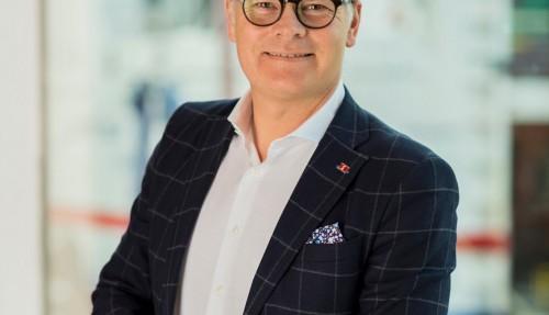 Niclas Mårtensson, administrerende direktør i Stena Line, sier at selskapet har vært tvungne til å ta tøffe beslutninger. Foto: Stena Line