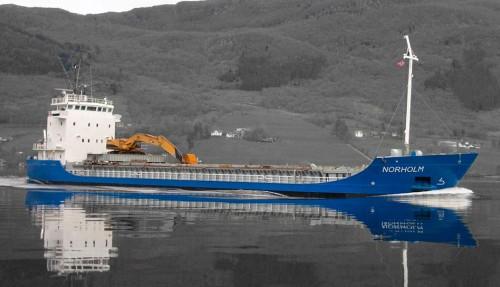 Eit av fartøya til Arriva Shipping i Ølensvåg som er aktuelt for heimflagging. (Foto: Arriva Shipping)